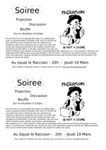 Calais info night